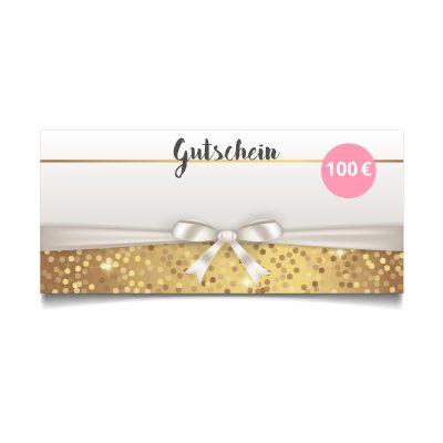 Kosmetik-2go Geschenkgutschein im Wert von 100 EUR