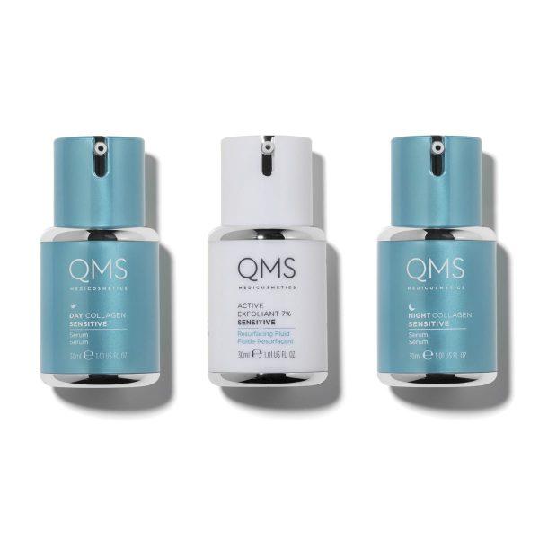 QMS 3-Step Collagen Sensitive System